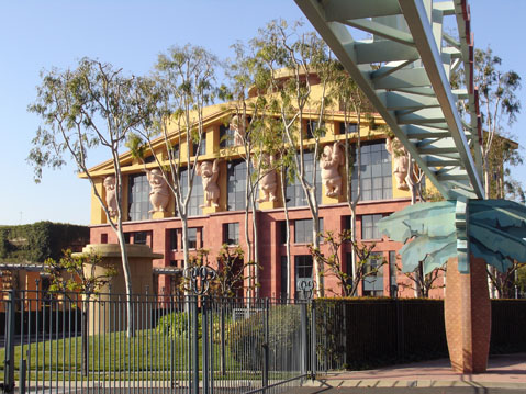 World Travel Photos :: USA - Misc :: Los Angeles. Walt Disney Studio