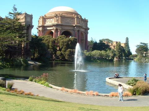 World Travel Photos :: Rena :: San Francisco. The Palace of Fine Arts