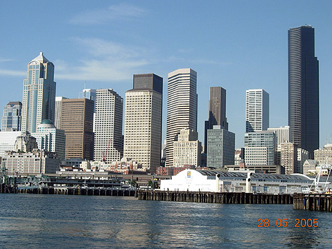 World Travel Photos :: Panoramic views :: Seattle. Commercial District