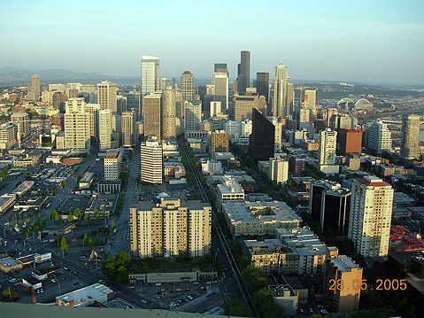World Travel Photos :: USA - Misc :: Seattle. Downtown