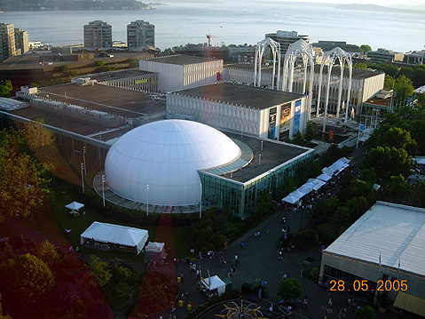 World Travel Photos :: USA - Misc :: Seattle. IMAX Theatre