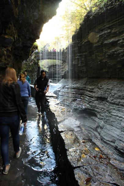 World Travel Photos :: Torontonian :: Watkins Glen State Park, New York - this is not a rainy day!