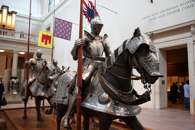 World Travel Photos :: USA - New York City :: New York City. Arms and Armor exhibit at the Metropolitan Museum of Arts