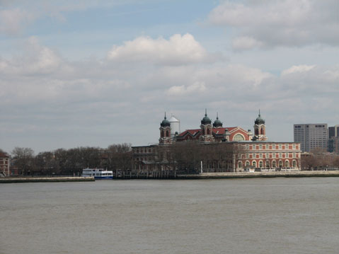 World Travel Photos :: Panoramic views :: New York City. Ellis Island