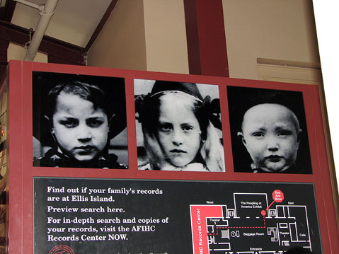 World Travel Photos :: Museum of Immigration :: New York City. Ellis Island - Immigration Museum