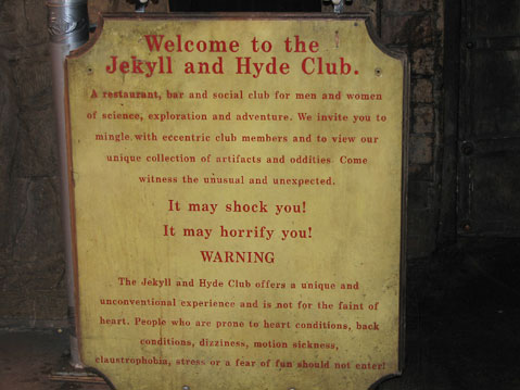 World Travel Photos :: Jekyll and Hyde Club :: New York City. New York City. Jekyll and Hyde Club