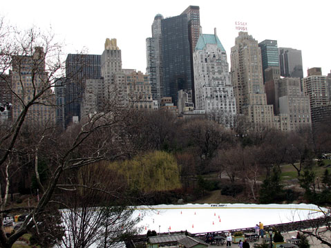World Travel Photos :: Panoramic views :: New York City. City view from Central Park