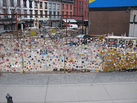 World Travel Photos :: USA - New York City :: New York City. In a Memory of Victims of September 11th