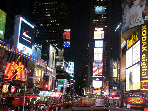 World Travel Photos :: Times Square :: New York. Manhatten at Night