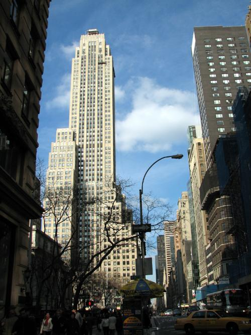 World Travel Photos :: The most famous buildings  :: New York. Rockefeller Center