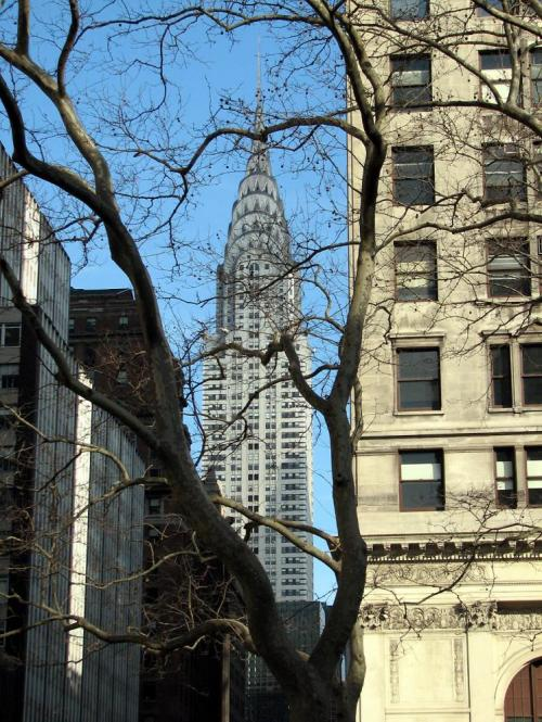 World Travel Photos :: USA - New York City :: New York. View on Chrysler Building