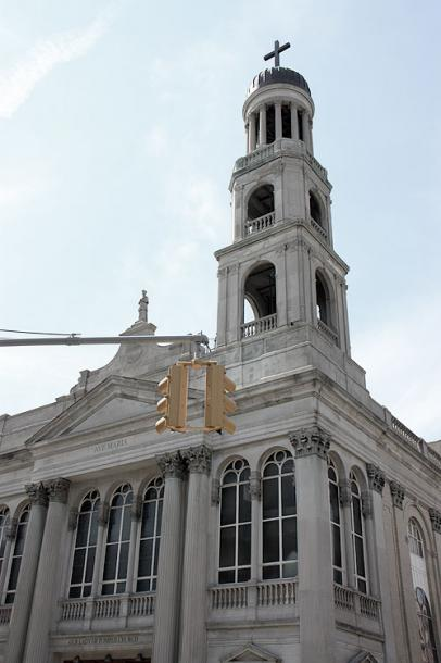 World Travel Photos :: Religious buildings :: NYC. A church in Greenwich Village