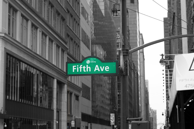 World Travel Photos :: 5th Avenue :: NYC. Fifth Avenue