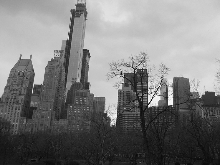 World Travel Photos :: Maya :: New York City. A view on Manhatten from Central Park