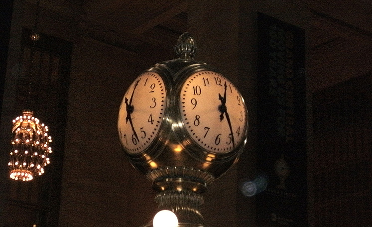 World Travel Photos :: USA - New York City :: New York City. Grand Central - four-faced clock