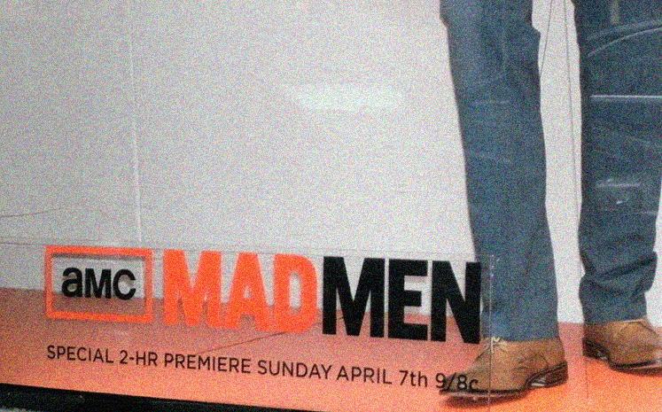 World Travel Photos :: Maya :: New York City. Mad Men TV show advertisement