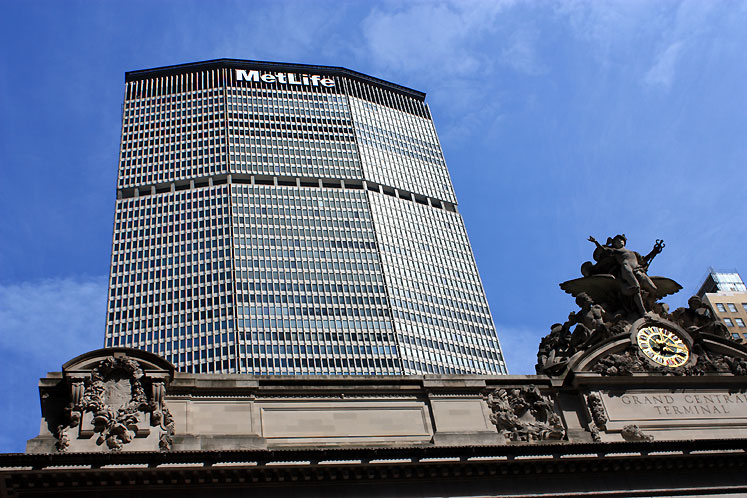 World Travel Photos :: MetLife Building :: New York City. MetLife building