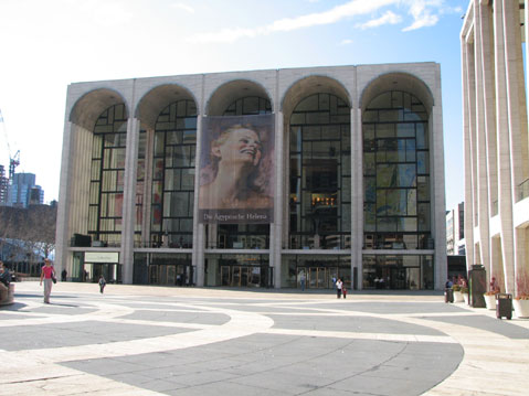 World Travel Photos :: Metropolitan Opera Building :: New York City. Metropolitan Opera Building