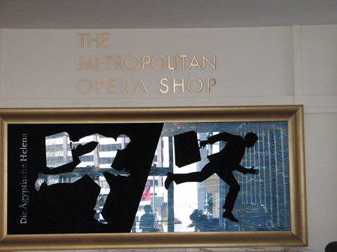 World Travel Photos :: Metropolitan Opera Building :: New York City. Metropolitan Opera Shop