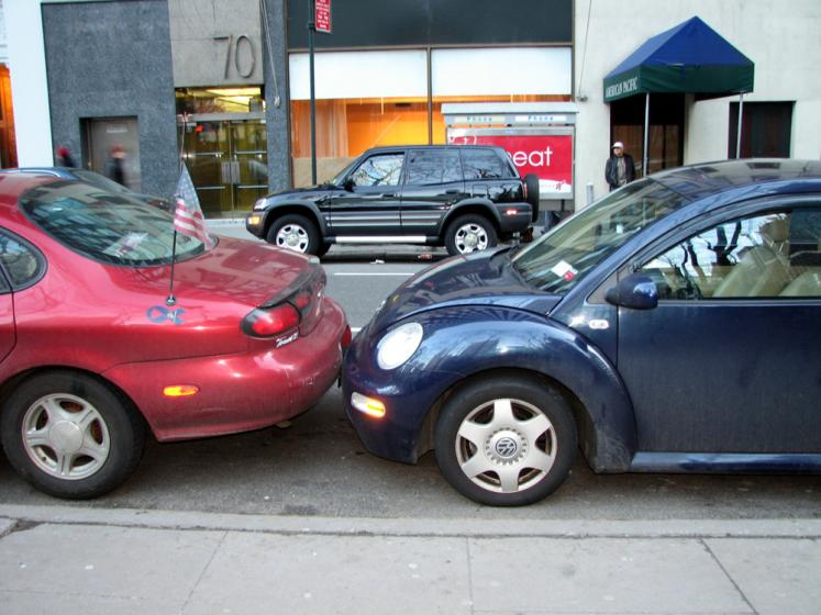 World Travel Photos :: USA - New York City :: New York City. Not enough parking space?