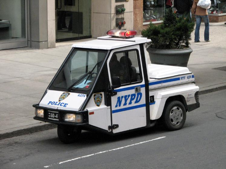 World Travel Photos :: USA - New York City :: New York City. Police Vehicle