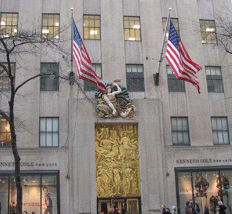 World Travel Photos :: USA - New York City :: New York City. Rockfeller Center