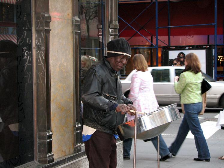 World Travel Photos :: USA - New York City :: New York City. Street Performer