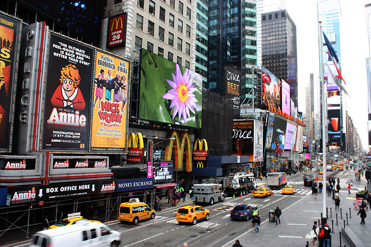 World Travel Photos :: Times Square :: New York City - Times Square
