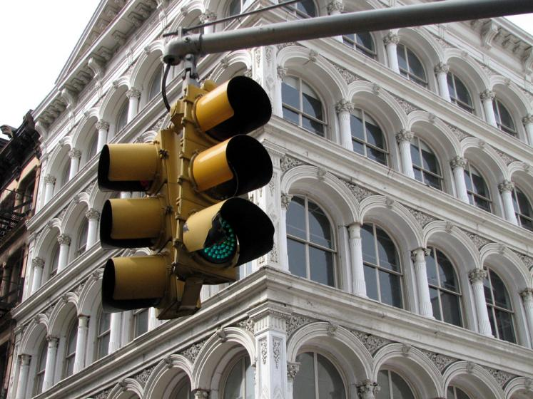 World Travel Photos :: USA - New York City :: New York City. Traffic Lights
