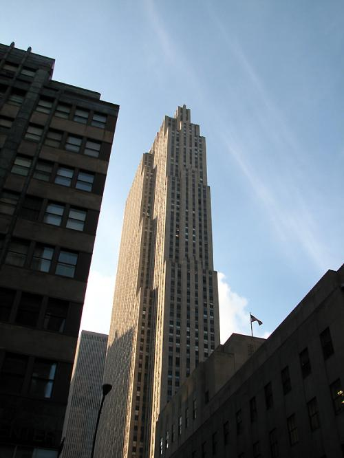World Travel Photos :: The most famous buildings  :: New York City. Rockfeller Center