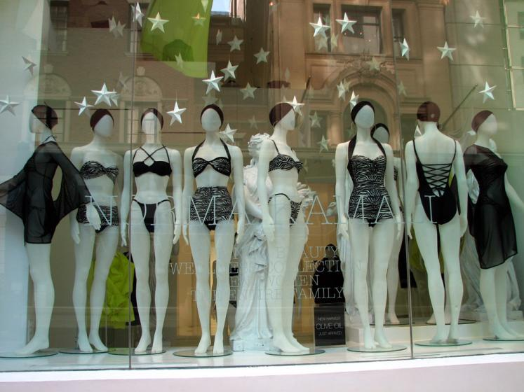 World Travel Photos :: Billboards and shop windows :: New York City. Shop Window