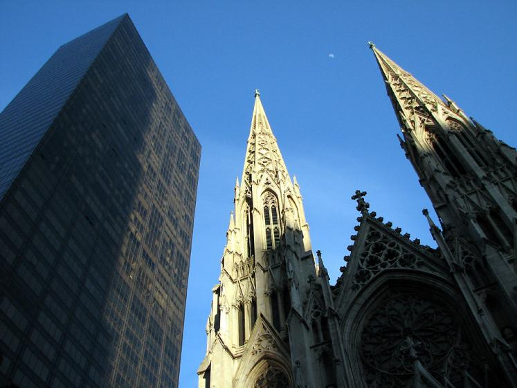 World Travel Photos :: St. Patrick´s Cathedral :: New York City. St. Patrick´s Cathedral on 5th avenue