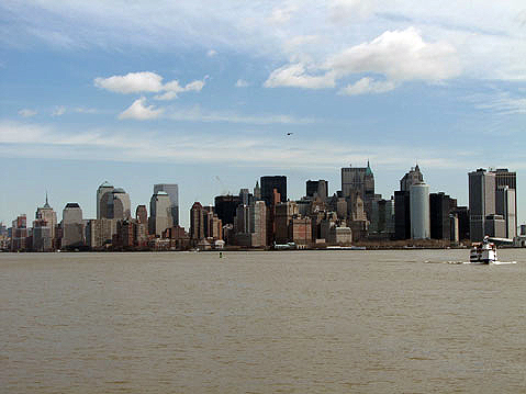 World Travel Photos :: Panoramic views :: New York City. View on Manhatten