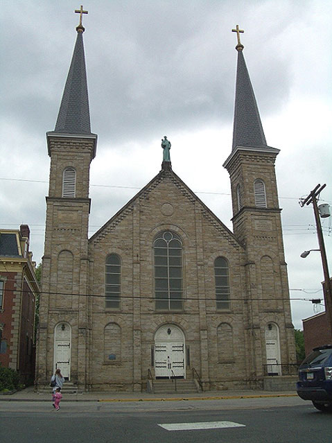 World Travel Photos :: USA - Pittsburgh :: Pittsburgh. Saint-Anthony Chapel
