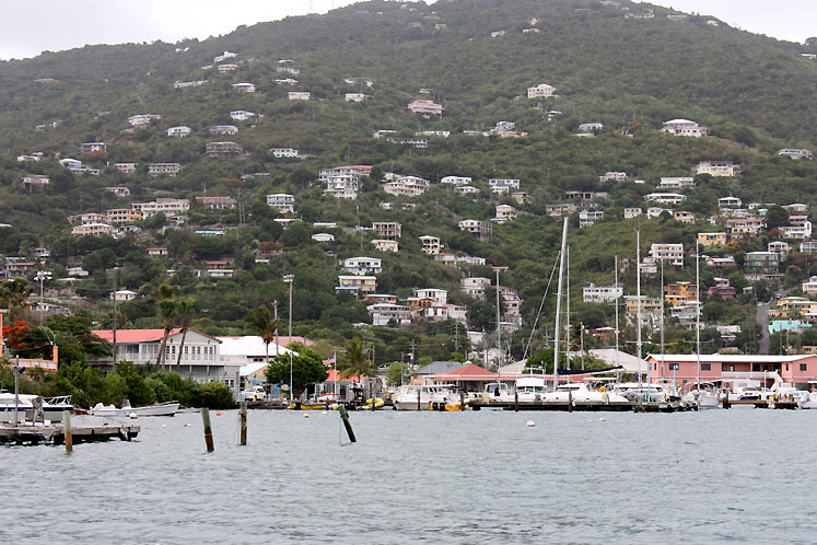 World Travel Photos :: USA - Virgin Islands :: A harbor in SaintThomas