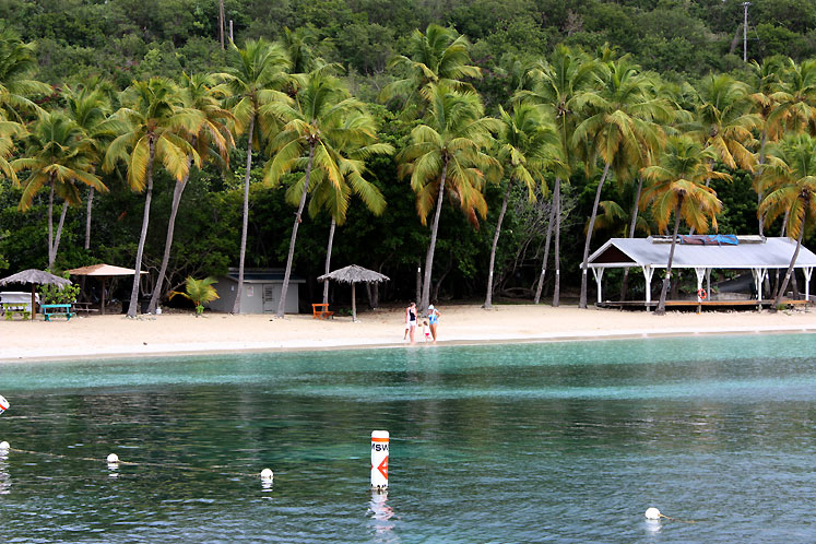 World Travel Photos :: USA - Virgin Islands :: Saint Thomas - a Honeymoon beach