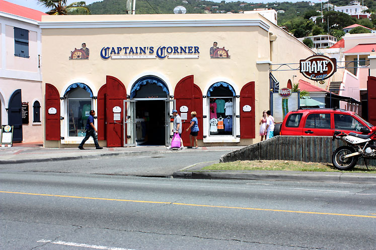 World Travel Photos :: USA - Virgin Islands :: US Virgin Islands - St. Thomas - Captain´s Corner shop