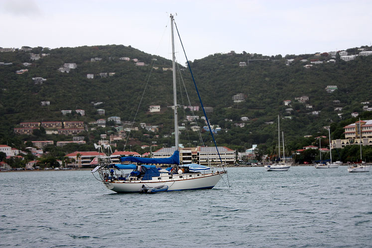 World Travel Photos :: USA - Virgin Islands :: St. Thomas - yachts