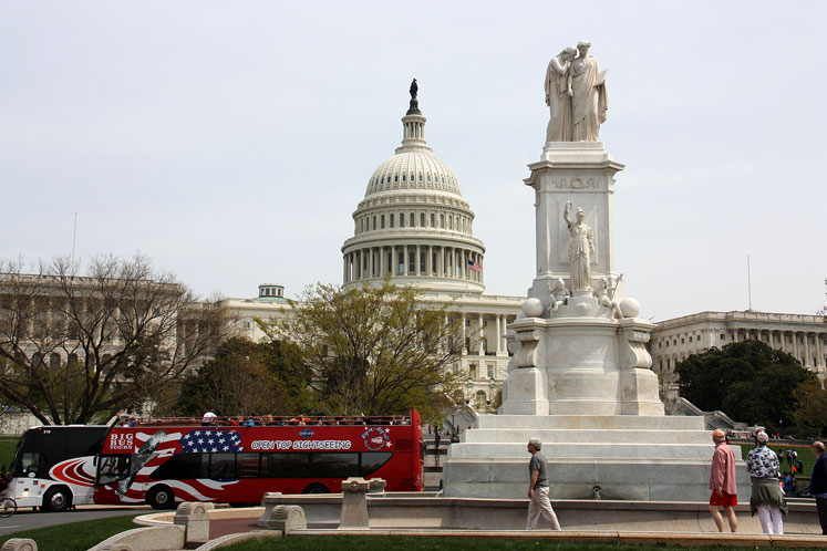 World Travel Photos :: USA - Washington, D.C. :: Washington D.C. - landmarks are everywhere